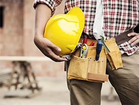 Construction Worker With Hard Hat 1