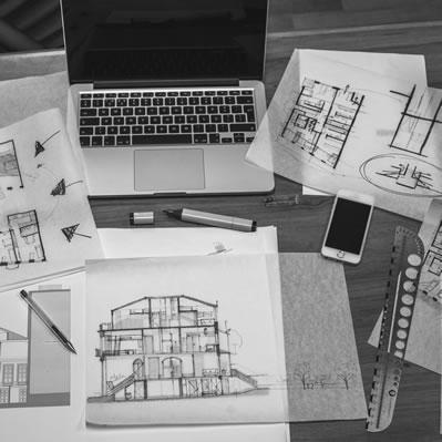 Vms Construction Company And Blueprints